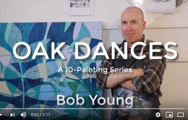 Video still from Oak Dances video - Bob Young - Visual Artist